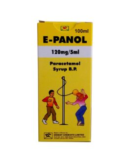 E-Panol (Paracetamol) Syrup 100ml