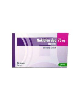 Naklofen Duo caps 75 mg 20's